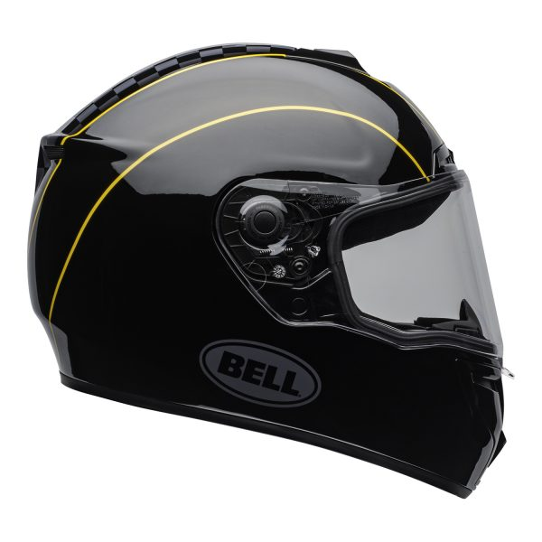 bell-srt-street-helmet-buster-gloss-black-yellow-gray-clear-shield-right.jpg-BELL SRT BUSTER GLOSS BLACK GOLD GREY