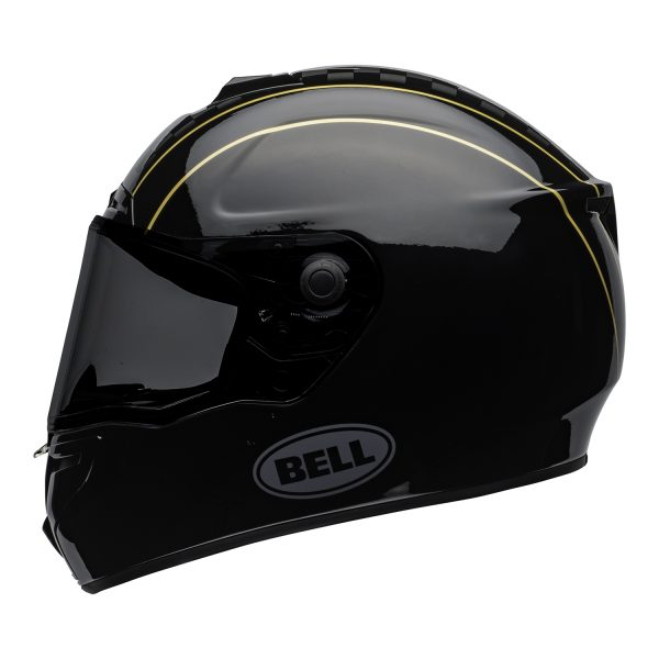 bell-srt-street-helmet-buster-gloss-black-yellow-gray-left-BELL SRT GLOSS BLACK
