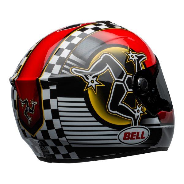 bell-srt-street-helmet-isle-of-man-2020-gloss-black-red-back-right-BELL SRT GLOSS BLACK