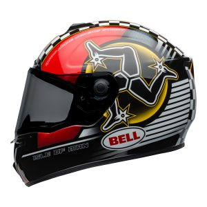 BELL SRT ISLE OF MAN GLOSS BLACK RED