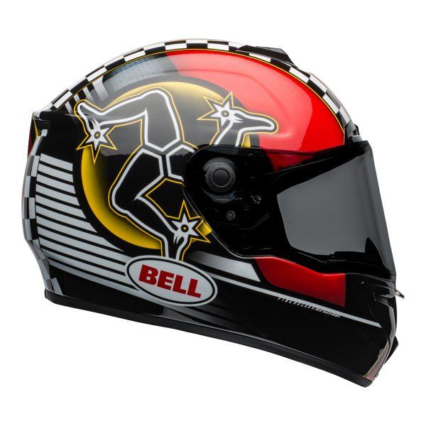 bell-srt-street-helmet-isle-of-man-2020-gloss-black-red-right-BELL SRT GLOSS BLACK