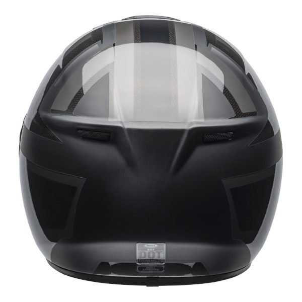 bell-srt-street-helmet-predator-matte-gloss-blackout-back-BELL SRT GLOSS BLACK