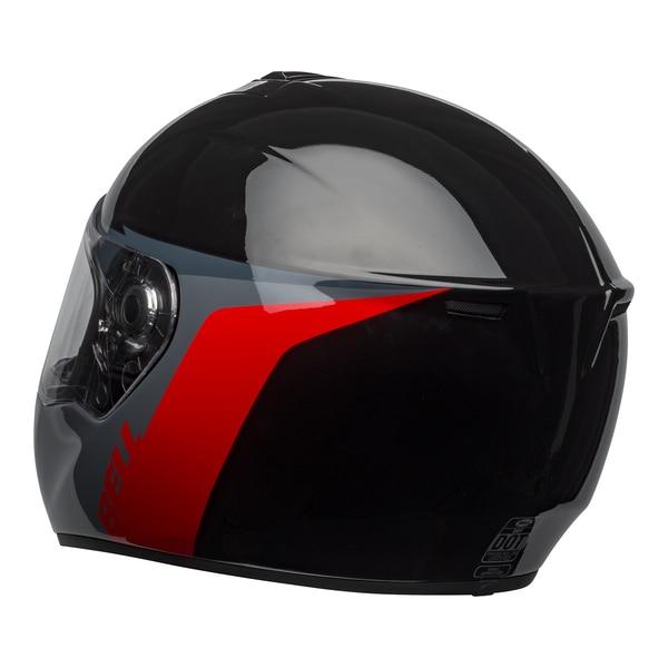 bell-srt-street-helmet-razor-gloss-black-gray-red-back-left-clear-shield__42411.1601548015.jpg-BELL SRT RAZOR GLOSS BLACK GREY RED