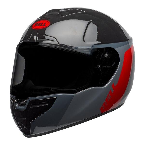 bell-srt-street-helmet-razor-gloss-black-gray-red-front-left__90219.1601548015.jpg-BELL SRT RAZOR GLOSS BLACK GREY RED
