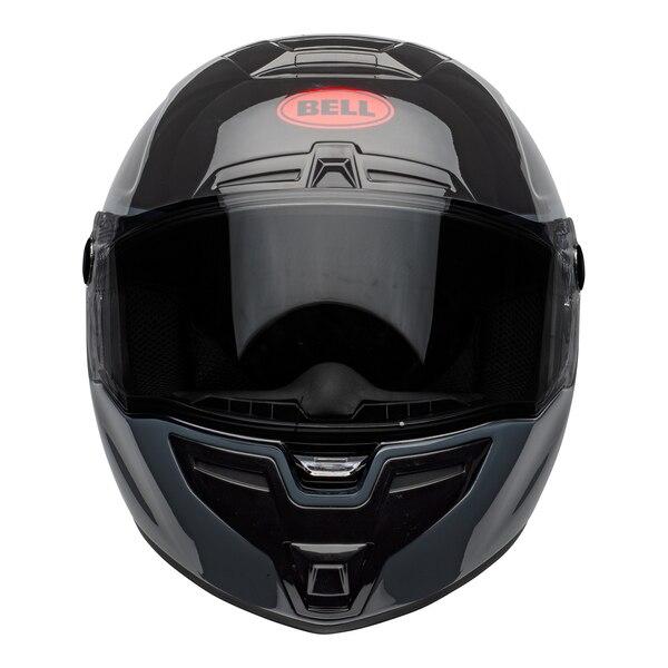 bell-srt-street-helmet-razor-gloss-black-gray-red-front__49248.1601548015.jpg-BELL SRT RAZOR GLOSS BLACK GREY RED