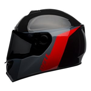 BELL SRT RAZOR GLOSS BLACK GREY RED