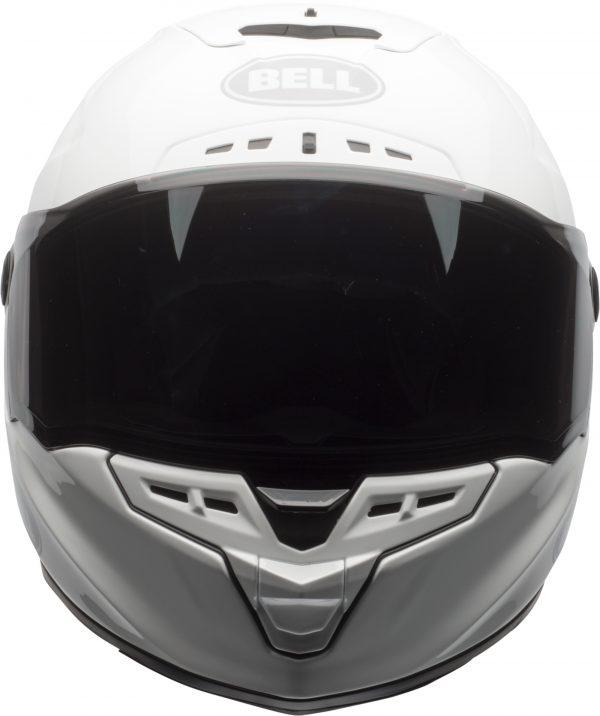 bell-star-dlx-mips-ece-street-helmet-gloss-white-front.jpg-Bell Street 2021 Star DLX MIPS Adult Helmet Helmet (Solid White)
