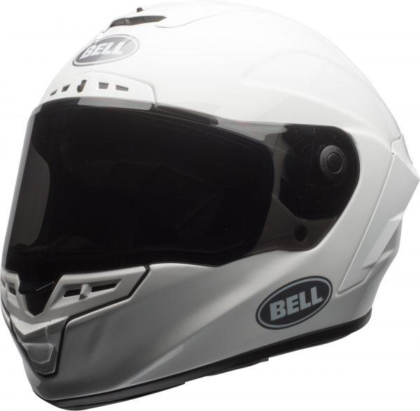 bell-star-dlx-mips-ece-street-helmet-gloss-white-front-left.jpg-Bell Street 2021 Star DLX MIPS Adult Helmet Helmet (Solid White)