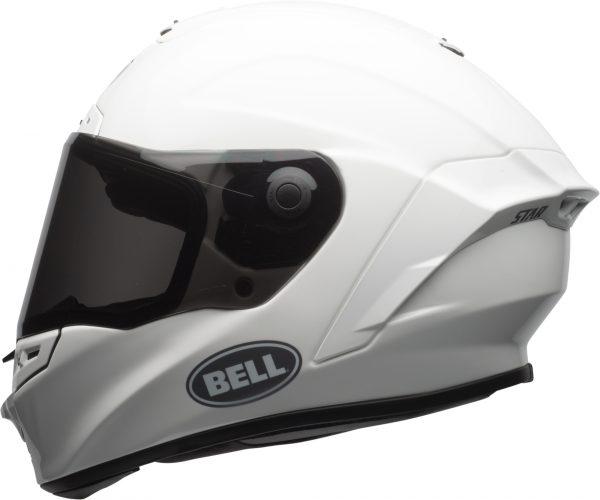 bell-star-dlx-mips-ece-street-helmet-gloss-white-left.jpg-Bell Street 2021 Star DLX MIPS Adult Helmet Helmet (Solid White)