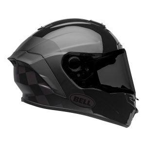 Bell Street 2021 Star DLX MIPS Adult Helmet Helmet (Lux Checkers M/G Black/Rootbeer)