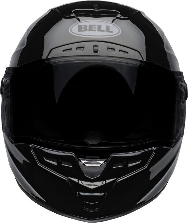 bell-star-dlx-mips-ece-street-helmet-lux-checkers-matte-gloss-black-white-front.jpg-Bell Street 2021 Star DLX MIPS Adult Helmet Helmet (Lux Checkers M/G Black/White)
