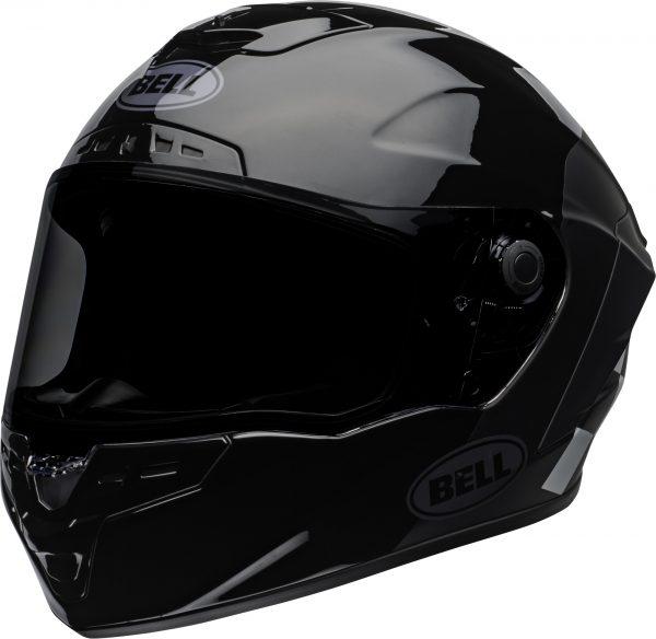 bell-star-dlx-mips-ece-street-helmet-lux-checkers-matte-gloss-black-white-front-left.jpg-Bell Street 2021 Star DLX MIPS Adult Helmet Helmet (Lux Checkers M/G Black/White)