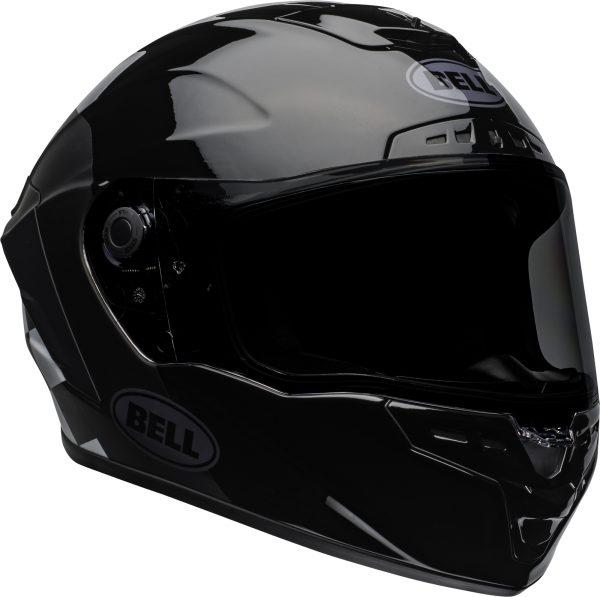 bell-star-dlx-mips-ece-street-helmet-lux-checkers-matte-gloss-black-white-front-right.jpg-Bell Street 2021 Star DLX MIPS Adult Helmet Helmet (Lux Checkers M/G Black/White)