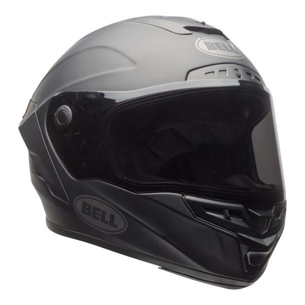 bell-star-dlx-mips-ece-street-helmet-matte-black-front-right.jpg-Bell Street 2021 Star DLX MIPS Adult Helmet Helmet (Solid Matte Black)