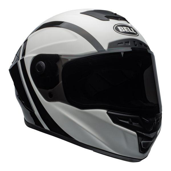 bell-star-dlx-mips-ece-street-helmet-tantrum-matte-gloss-white-black-titanium-front-right.jpg-Bell Street 2021 Star ?DLX MIPS Adult Helmet (Tantrum M/G White/Black/Titanium)