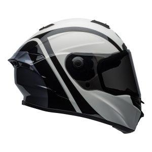 Bell Street 2021 Star ?DLX MIPS Adult Helmet (Tantrum M/G White/Black/Titanium)