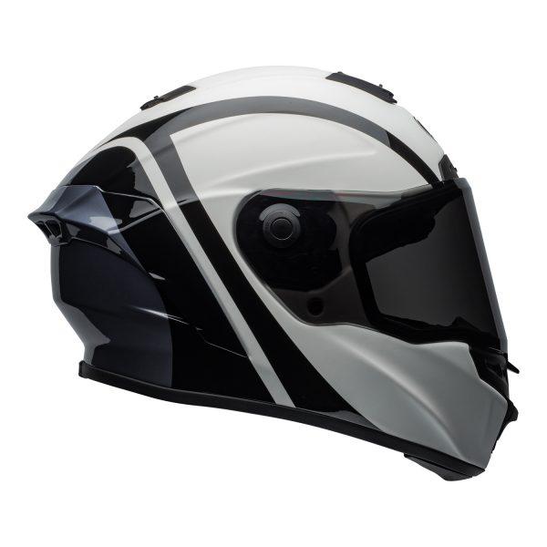 bell-star-dlx-mips-ece-street-helmet-tantrum-matte-gloss-white-black-titanium-right.jpg-Bell Street 2021 Star ?DLX MIPS Adult Helmet (Tantrum M/G White/Black/Titanium)