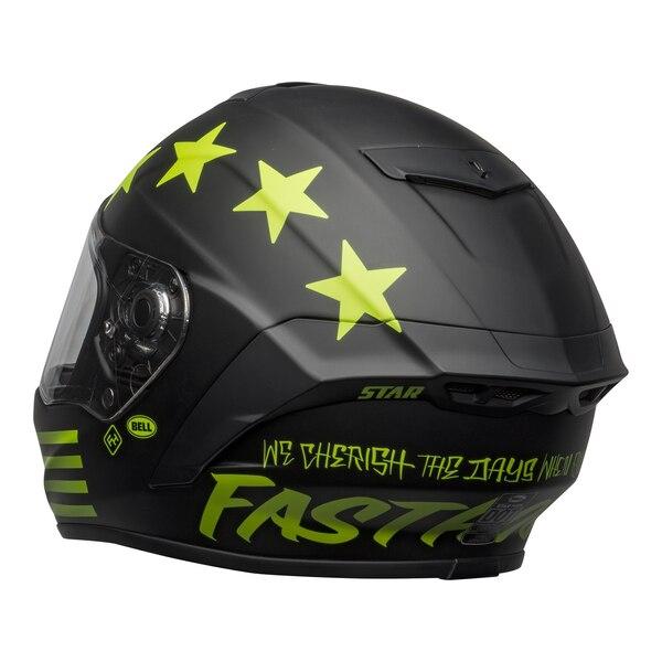 bell-star-dlx-mips-street-helmet-fasthouse-victory-circle-matte-black-hi-viz-back-left-clear-shield__77129.1601547419.jpg-Bell Street 2021 Star DLX MIPS Adult Helmet Helmet (Fasthouse Matte Black/Hi-Viz)