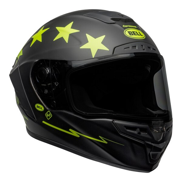 bell-star-dlx-mips-street-helmet-fasthouse-victory-circle-matte-black-hi-viz-front-right__50420.1601547420.jpg-Bell Street 2021 Star DLX MIPS Adult Helmet Helmet (Fasthouse Matte Black/Hi-Viz)