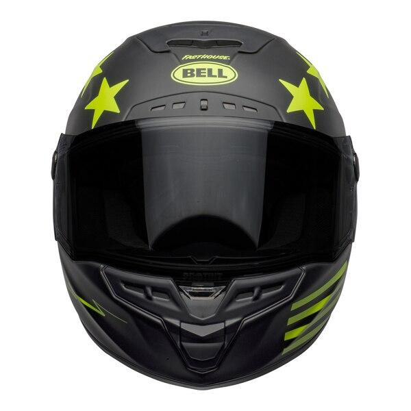 bell-star-dlx-mips-street-helmet-fasthouse-victory-circle-matte-black-hi-viz-front__76170.1601547419.jpg-Bell Street 2021 Star DLX MIPS Adult Helmet Helmet (Fasthouse Matte Black/Hi-Viz)