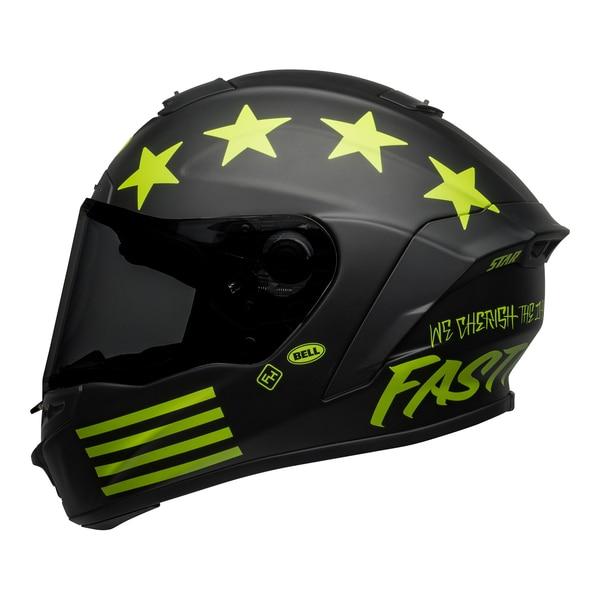 bell-star-dlx-mips-street-helmet-fasthouse-victory-circle-matte-black-hi-viz-left__65798.1601547419.jpg-Bell Street 2021 Star DLX MIPS Adult Helmet Helmet (Fasthouse Matte Black/Hi-Viz)