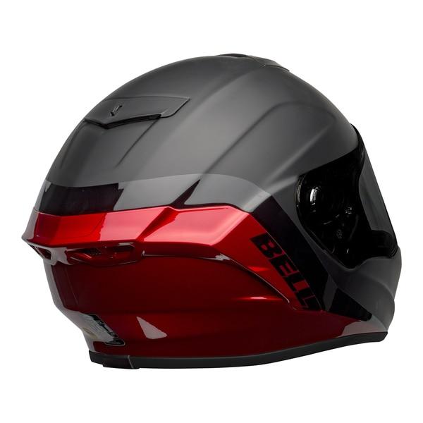 bell-star-dlx-mips-street-helmet-shockwave-matte-gloss-black-candy-red-back-right__41838.1601546495.jpg-Bell Street 2021 Star DLX MIPS Adult Helmet Helmet (Shockwave M/G Black/Candy Red)