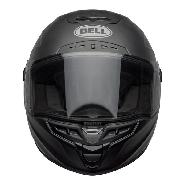 bell-star-dlx-mips-street-helmet-shockwave-matte-gloss-black-candy-red-front-clear-shield__89183.1601546495.jpg-Bell Street 2021 Star DLX MIPS Adult Helmet Helmet (Shockwave M/G Black/Candy Red)