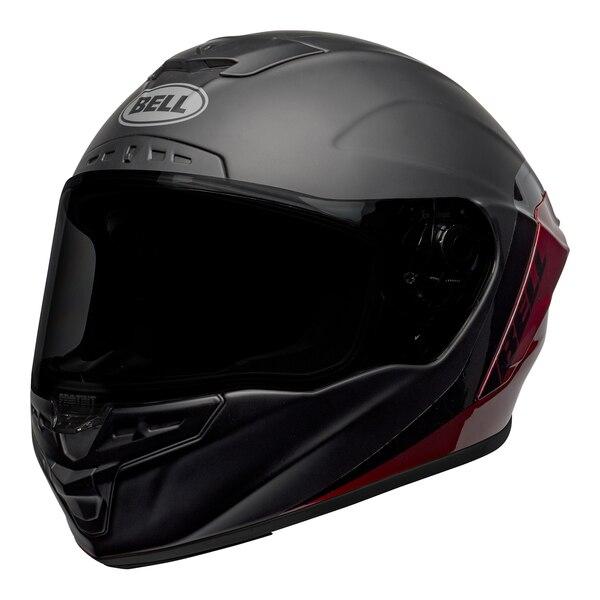 bell-star-dlx-mips-street-helmet-shockwave-matte-gloss-black-candy-red-front-left__94041.1601546495.jpg-Bell Street 2021 Star DLX MIPS Adult Helmet Helmet (Shockwave M/G Black/Candy Red)