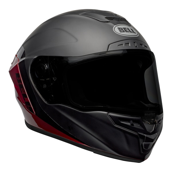 bell-star-dlx-mips-street-helmet-shockwave-matte-gloss-black-candy-red-front-right__51079.1601546495.jpg-Bell Street 2021 Star DLX MIPS Adult Helmet Helmet (Shockwave M/G Black/Candy Red)