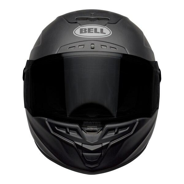 bell-star-dlx-mips-street-helmet-shockwave-matte-gloss-black-candy-red-front__89757.1601546494.jpg-Bell Street 2021 Star DLX MIPS Adult Helmet Helmet (Shockwave M/G Black/Candy Red)