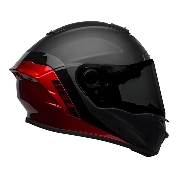 bell-star-dlx-mips-street-helmet-shockwave-matte-gloss-black-candy-red-right__95656.1601546494.jpg-Bell Street 2021 Star DLX MIPS Adult Helmet Helmet (Shockwave M/G Black/Candy Red)