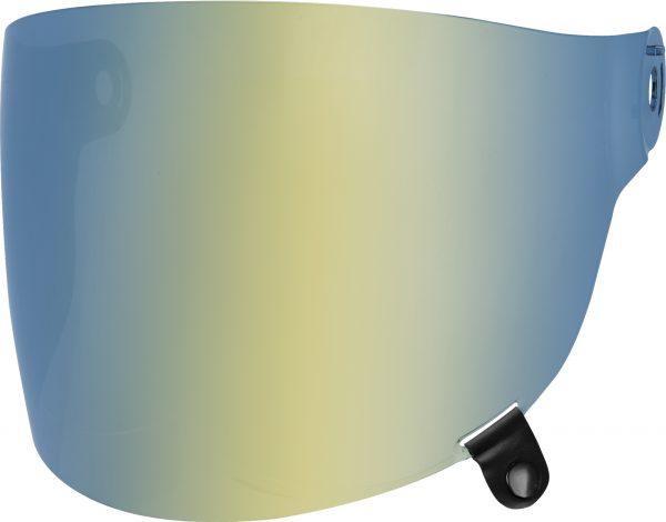 bell-bullitt-flat-shield-spare-part-gold-iridium-black-tab-front-left-BELL BULLITT FLAT SHIELDS VARIOUS COLOURS (WITH BLACK TAB) – Dark Silver Iridium