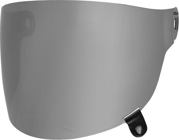 bell-bullitt-flat-shield-spare-part-silver-iridium-black-tab-front-left-BELL BULLITT FLAT SHIELDS VARIOUS COLOURS (WITH BLACK TAB) – Dark Smoke