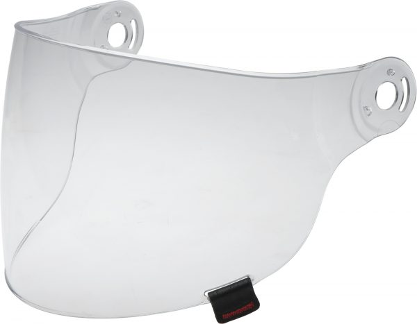bell-riot-flat-shield-spare-part-clear-front-left-BELL RIOT SHIELD VISOR VARIOUS COLOURS