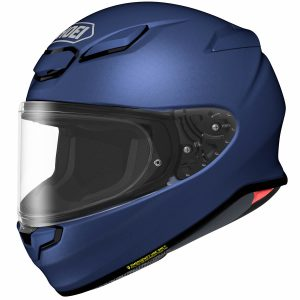 SHOEI NXR2 PLAIN MATT BLUE METALLIC