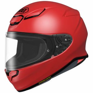SHOEI NXR2 PLAIN SHINE RED