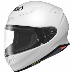 SHOEI NXR2 PLAIN GLOSS WHITE